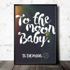 Printable Poster! So cute in a nursery or kid room! ~ by CamCreativeDesign on Etsy - pinned by pin4etsy.com