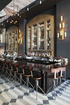 Elements from ~Bar by Kenneth Brown Design