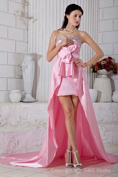 Hairstyles For Asymmetrical Dresses,Pink Woven Elastic Satin