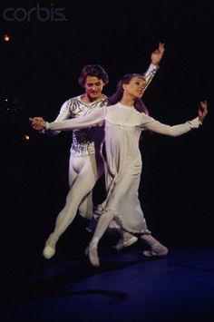 Mikhail Baryshnikov & Gelsey Kirkland in 'The Nutcracker' (choreography by Mikhail Baryshnikov)