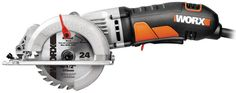 Free 2-day shipping. Buy WORX WORXSAW 4.5-Inch Compact Circular Saw, Corded, WX429L at Walmart.com Mini Circular Saw, Compact Circular Saw, Circular Saw Reviews, Circular Saw Blades, Power Saw, Thing 1, Safety Switch, Cool Tools, Handy Tools
