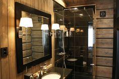 Laftekompaniet baderommet Bathroom, Decor, Furniture, Home, Framed Bathroom Mirror, Mirror, Bathroom Mirror, Home Decor, Mountain Homes