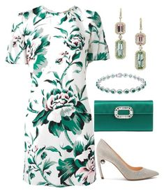 """""""Untitled #650"""" by lovelifesdreams on Polyvore featuring Burberry, Nicholas Kirkwood and Roger Vivier"""