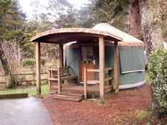 yurt. I can picture a yurt in my future...