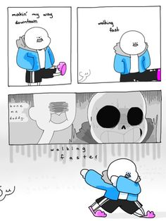 Just keep walking Sans. Undertale Comic Funny, Undertale Memes, Undertale Cute, Undertale Fanart, Undertale Drawings, Frisk, A Comics, Funny Comics, Pta Sans