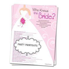 Free Bridal Shower Games   printable-bridal-shower-games-templates