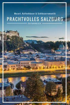 """Sie ist bekannt als Geburtsort von Wolfgang Amadeus Mozart, als Bühne der Salzburger Festspiele und bei manch einem vielleicht auch als Drehort des Filmklassikers """"The Sound of Music"""" – die Rede ist natürlich von der prachtvollen österreichischen Stadt Salzburg. In meinen Salzburg Tipps nehme ich euch mit in die wunderschöne Stadt, zeige euch die schönsten Sehenswürdigkeiten und die besten Kaffeehäuser der Stadt und verrate euch, was ihr in Salzburg nicht verpassen dürft. #salzburg #austria"""