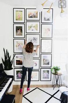 gallery wall. love.