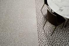 Porcelain stoneware flooring TERRAZZO by Ceramiche Coem Outdoor Tiles, Outdoor Flooring, Outdoor Pavers, Terrazo Flooring, Flooring Tiles, 2018 Interior Design Trends, Terrazzo Tile, Tiling, Unique Tile