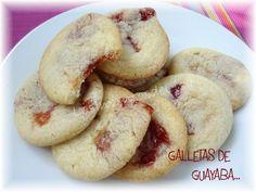 Los Inventos de Lisa: Galletas de Guayaba. Me encanta la guayaba , a ver cuando las preparo