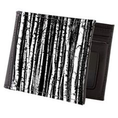 Artistic Birch Trees in black and white Mens Walle