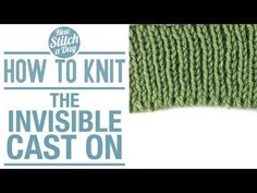 How to Knit the Invi