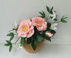 Купить Цветы из фоамирана - фоамиран, цветы из фоамирана, букет из фоамирана, букет дублер, букет для интерьера