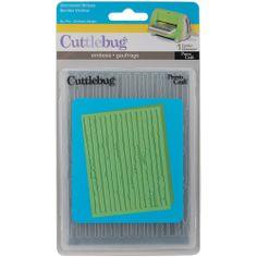 Cuttlebug A2 Embossing Folder-Distress Stripes 093573116445