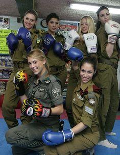 Israeli women soldiers in the line of fire
