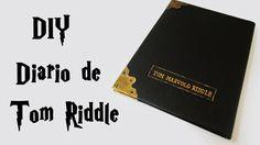 DIY: COMO FAZER o DIÁRIO DE TOM RIDDLE (Harry Potter Tutorial) | Ideias ...