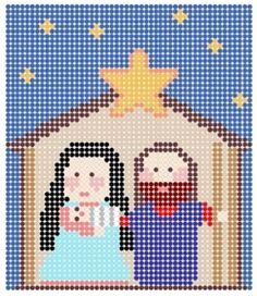Pesebre. #beads #pesebres #navidad #xmas