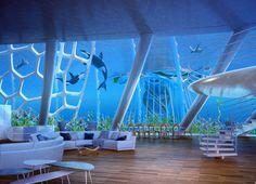 未来の都市は海に浮かぶ? 建築家が想像した「オーシャンスクレイパー」とは(画像集)