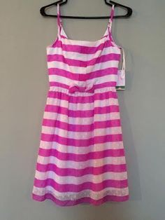 Lilly Pulitzer AWNING STRIPES ANTONIA DRESS #LillyPulitzer #SummerDress