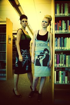 sew in love with these #recycled #Tshirt dresses.