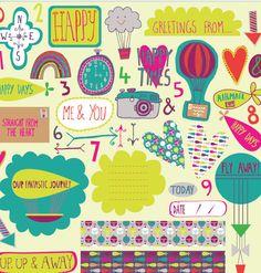 Cute patterns by Andrea Frankie van Mourik.