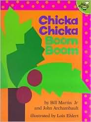 Chicka Chicka Boom Boom...makes me think of grandkids when they were small.  I always loved this book...loved the rhythm of it!