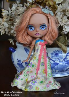 Mackenzie OOAK custom Blythe doll by Drop by DropDeadFashions