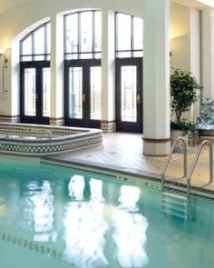 Fairmont Le Chateau Frontenac  ( Quebec City, Canada )  Hotel guests enjoy access to The Club Frontenac, one of the city top health clubs. #Jetsetter #JSSpa