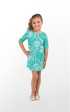Lilly Pulitzer little girl clothes are adorable! Love this one