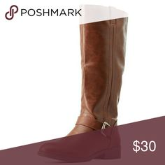 Tall brown riding boots Size 8.5 fit true to size lightly worn brand is Bamboo purchased at Charlotte Russe smoke free home Charlotte Russe Shoes Heeled Boots