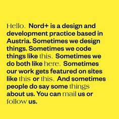 http://www.nord.plus/ Fonts Used: Founders Grotesk and Americana · Typewolf Typography Inspiration