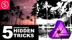 From Smart Layers to viewing your Mask content in full resolution. Let's uncover some Hidden functions in Affinity Photo: - How to see the content of a mask . Affinity Photo Tutorial, Vector Design, Graphic Design, Web Design, Hidden Photos, Photo Processing, Affinity Designer, Vector Shapes, Photo Tips