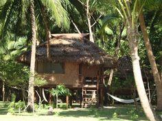 Our Bahay Kubo. Bali Architecture, Philippine Architecture, Tropical Architecture, Tropical Houses, Tropical Garden, Filipino House, Small House Exteriors, Hut House, Bahay Kubo