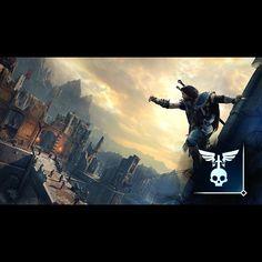 Tod aus der Luft - Verwende Angriff von Oben, währen du dich mindestens 60 Fuß über deinem Opfer befindest. #shadowofmordor #xboxone #xbox #achievement #gamer #followme #happy