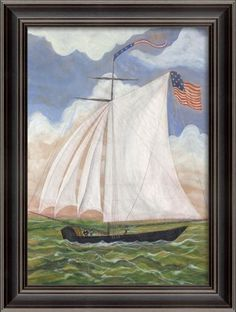 Sunday Sail Framed Wall Art