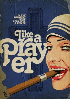 this isn't happiness™ (Ciccones, Butcher Billy), Peteski Pin Up Posters, Best Movie Posters, Movie Poster Art, Madonna Art, In The Midnight Hour, Diary Of A Madman, Skate Art, Pop Characters, Vintage Posters