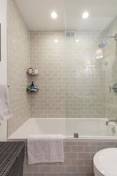 A Stylish Small Bathroom Remodel Adds Storage   Apartment Therapy