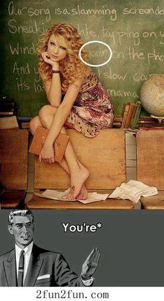 I am forever correcting my husbands grammar! Lol