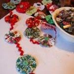 yo yo garland..... will be making these to go around the tree and throughout the house!