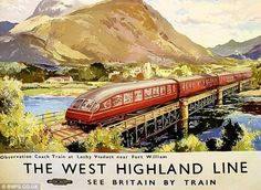 The West Highland Line Poster Scotland