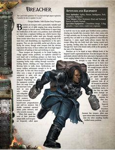 Breacher (Warhammer Hammer of the Emperor) Warhammer Lore, Warhammer 40k Memes, Warhammer 40000, Sketches Tutorial, War Hammer, Scion, Space Marine, Sci Fi Fantasy, Dieselpunk