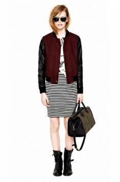 Madewell Fall 2012 Lookbook  I wanted and still want that jacket so, so badly. If anyone has an xs/s willing to sell, hit me up!