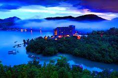 Sun Moon Lake Tourists Place In Taiwan
