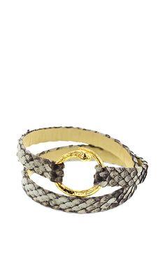 Snake Wrap Bracelet by Bibi van der Velden for Preorder on Moda Operandi