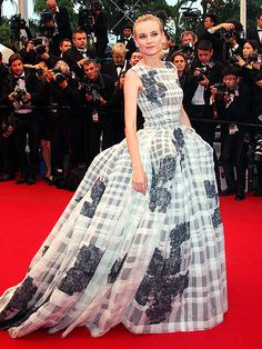 Diane Kruger in Christian Dior Couture, Cannes Film Festival 2012