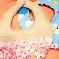 あおとあんの写し方。#スタイ #赤ちゃん #手作り #ハンドメイド