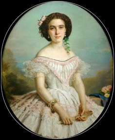 Portrait of young girl, Franz Xavier Winterhalter (German, 1805-1875)