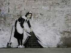 street art | http://file.poubelles.be/maidinlondon.jpg