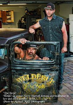 Welderup ~ Vegas Rat Rods Steve Darnell & Justin Kramer