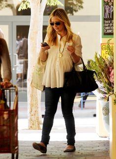 Sarah Michelle Gellar fashion maternity style